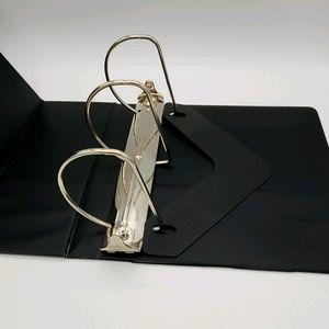 Slant Ring Binder with Label Holder, 5-Inch